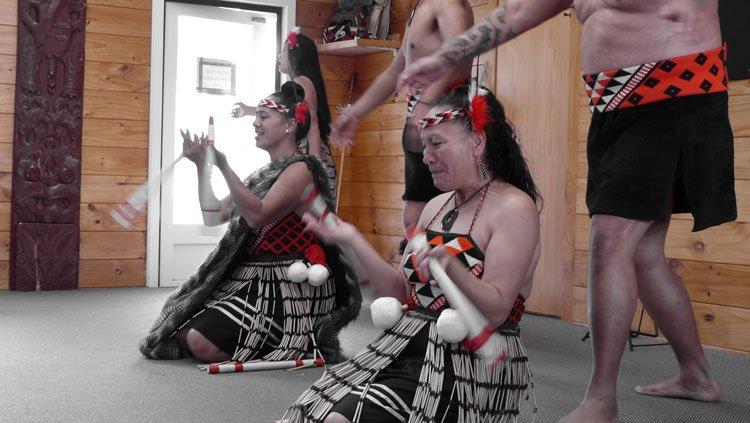 The Maori village of Wakarewarewa in Rotorua
