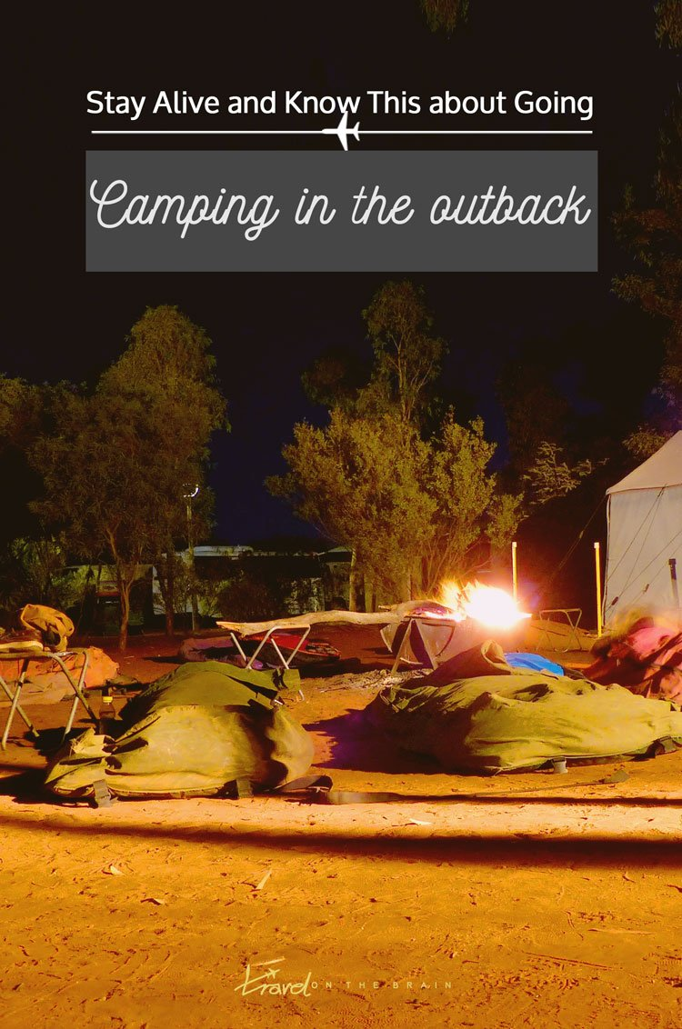 Stay Alive and Know This about Going Camping in the Outback