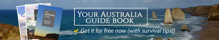 Get your free Australia guide as a PDF and access to the freebie travel document gallery