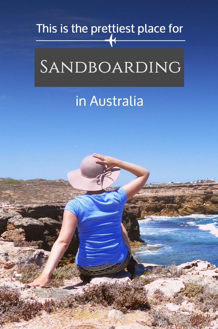 Do you know where the prettiest place for Australian sandboard is? I found it with Nullarbor Traveller // Sponsored