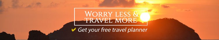 Sign up for the newsletter for travel input