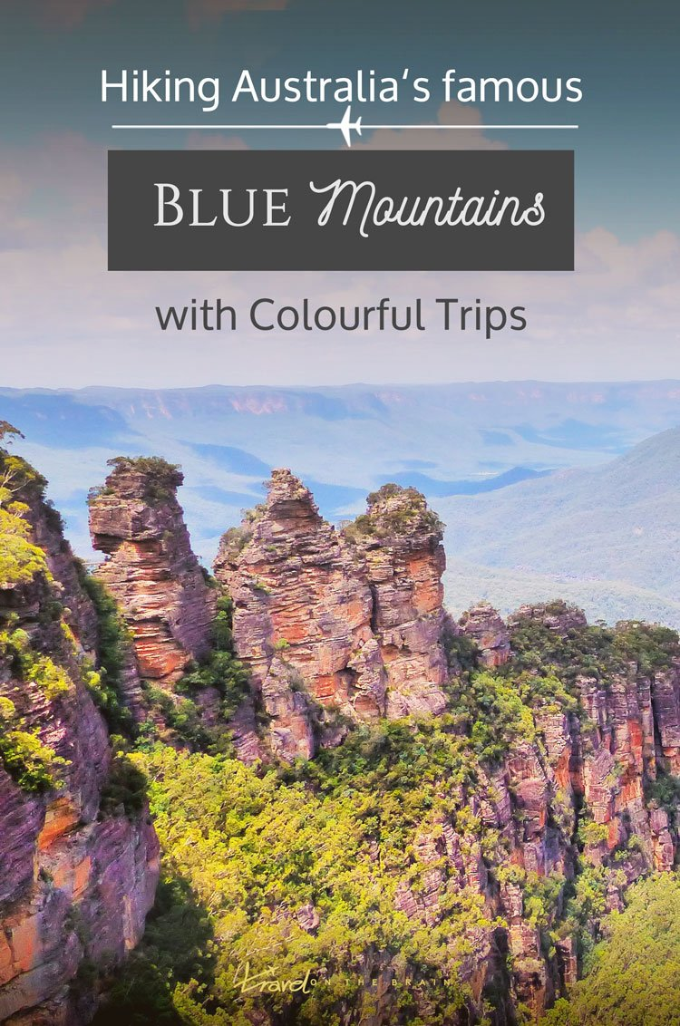 Hiking the Blue Mountains with Colourful Trips in Australia and spotting a Tasmanian devil // Sponsored