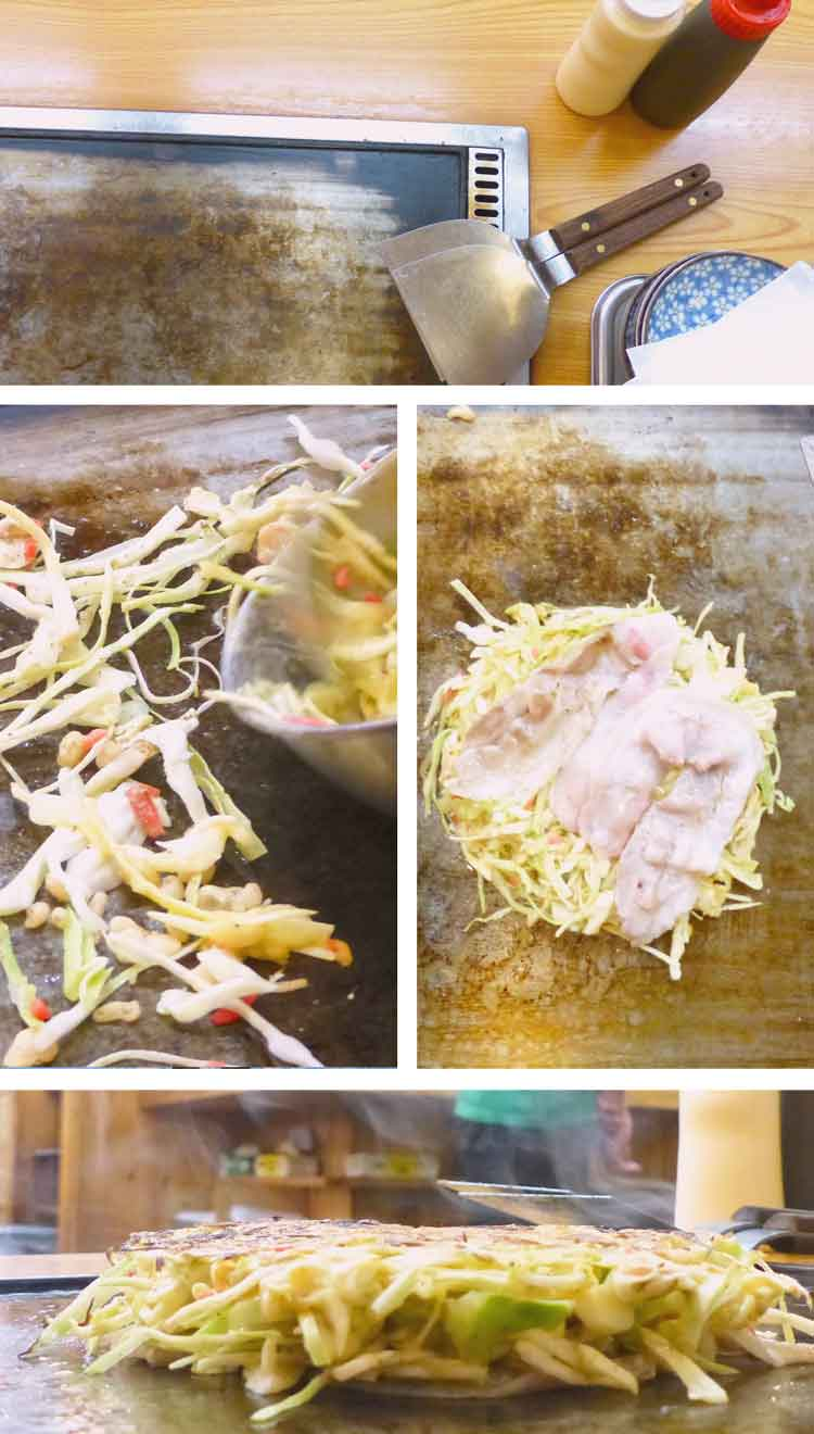 How to make Japanese okonomiyaki + video