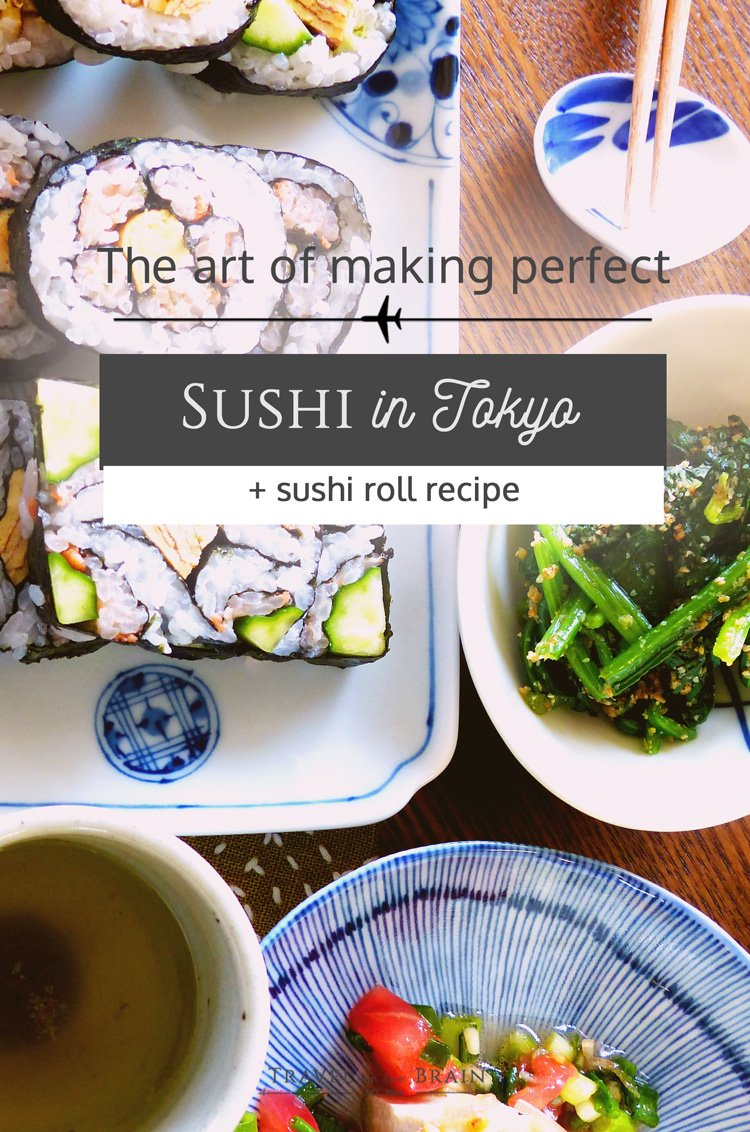 About the Art of Making Perfect Sushi in Tokyo