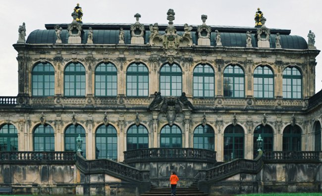 Zwinger in Dresden's Old Town