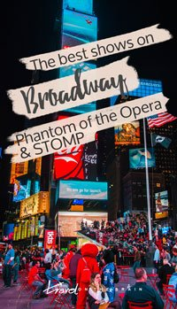 The Best Shows on Broadway? Phantom of the Opera and STOMP in NYC // Sponsored