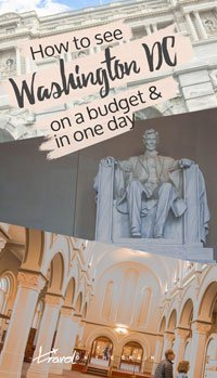 Seeing Washington on a Budget and in 1 Day // Sponsored