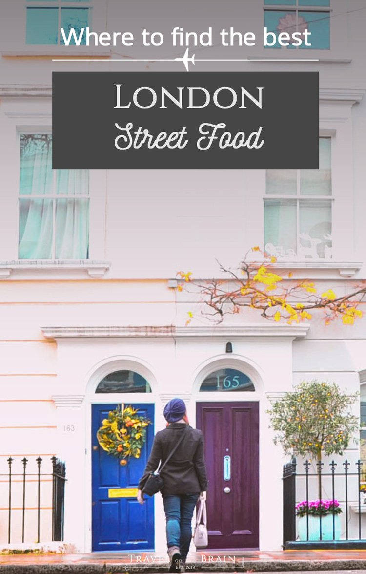 Where to Find the Best London Street Food - great snacks, fresh veggies and so much more! // Sponsored
