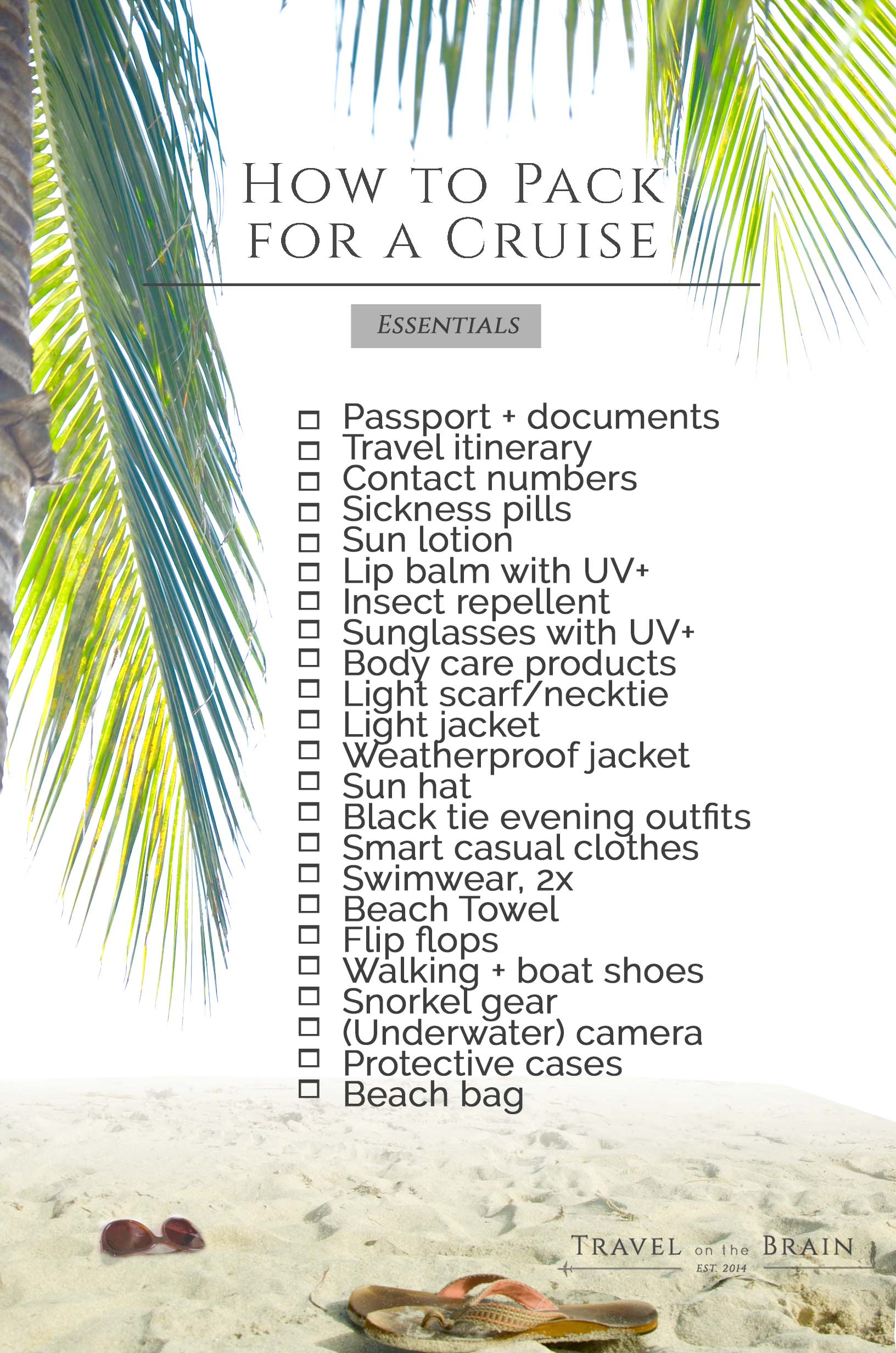 Packing List for Cruises // Sponsored