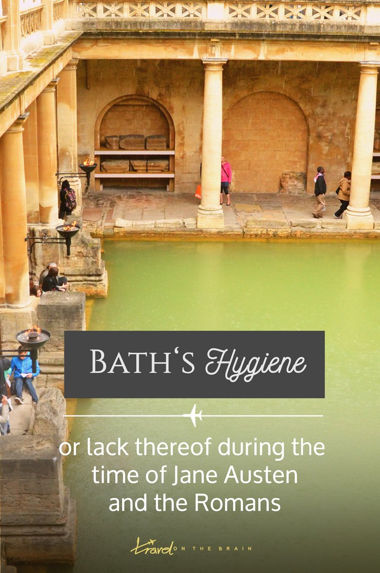 If you dive right in into the history of Bath and want to learn all about staying clean and healthy, you might be in for a shock. The past was rather dirty. You don't want to read the stories. Or maybe you do?