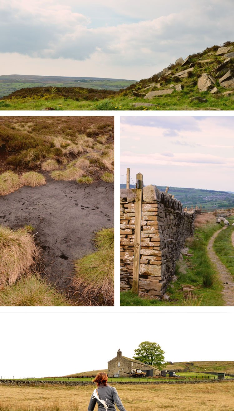How to Explore Yorkshire like the Brontë Sisters. Retracing the steps and seeing their favourite walks, rooms and finally understanding the mood of their novels. // Sponsored