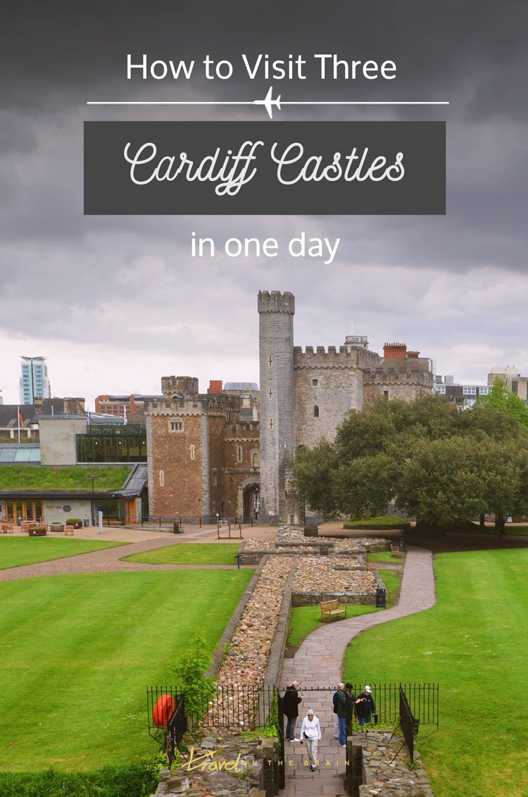 How to Visit Three Cardiff Castles in One Day. It's absolutely possible and you might not even meet the general touristy, selfie stick wielding crowd. Here's my story. And it includes mud. // Sponsored