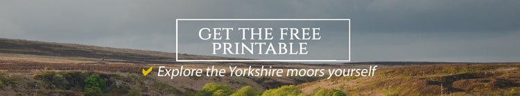 Get your free Yorkshire walk printable now from Travel on the Brain