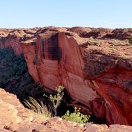 Outdoor adventures in Australia, Kings Canyon