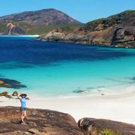 Solo travel around the world ideas - Esperance