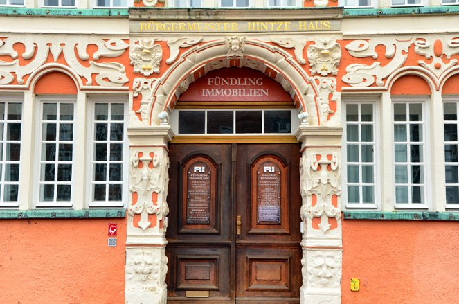Altes Land in Germany - super detailed and colourful doors