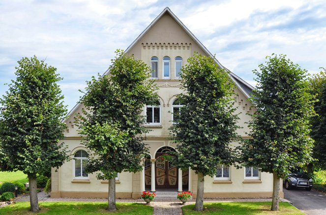 Altes Land in Germany - cute country house