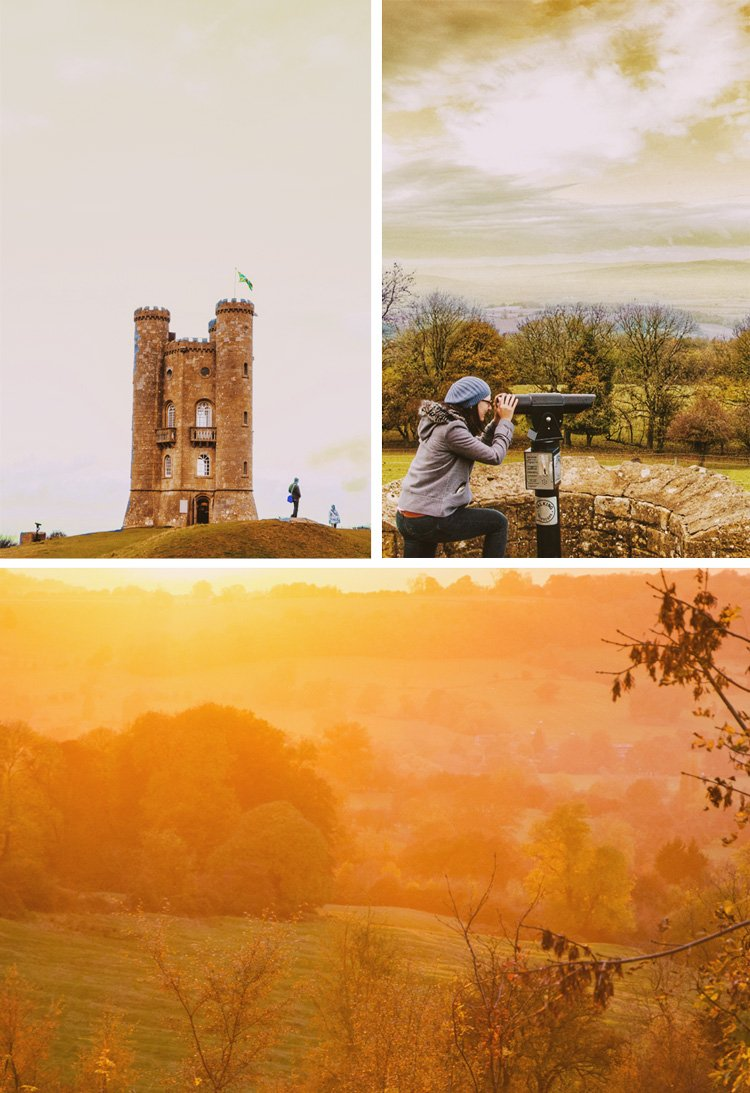 Broadway Tower in the Cotswolds in England