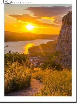 I Couldn't Believe Sunset in Croatia Looked Like This