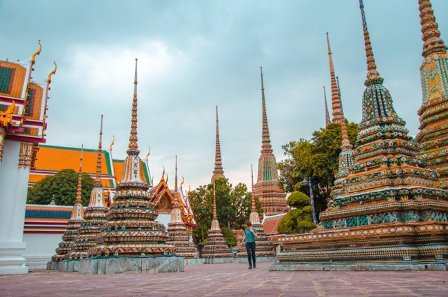 My Nomadic Life in South East Asia - admiring Bangkok's temples