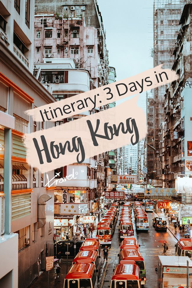 Hong Kong is the perfect gateway: An exciting blend between Western and Eastern cultures. Everyone speaks English, there are plenty of bilingual signs and it is exceptionally easy to get around. Plus, there is so much diversity on the many little and bigger islands that make up the island state. In short, there are plenty of Hong Kong sights you can see and if you have 3 days in Hong Kong, you will get a decent overview.