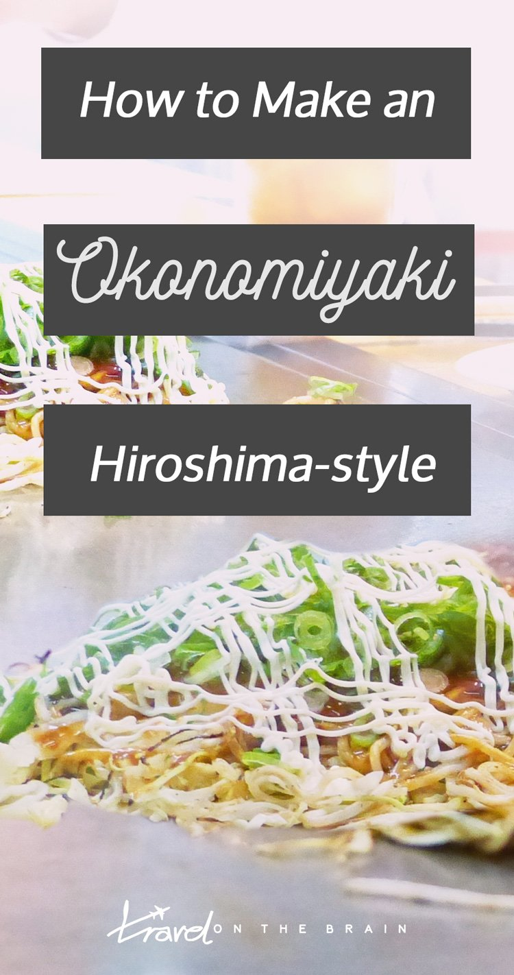 Recipe: How to Make an Okonomiyaki Hiroshima-style