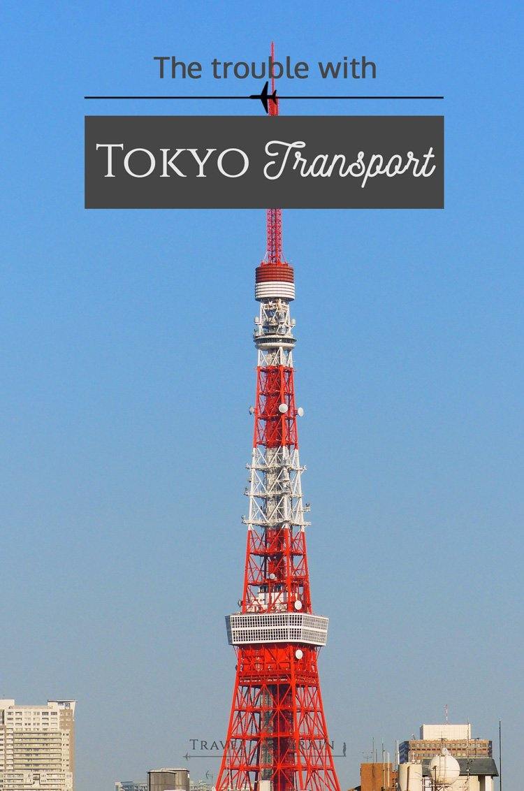 The Trouble with Tokyo Transport Is
