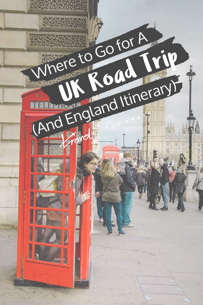 Where to Go for a UK Road Trip - Your England Itinerary // Sponsored