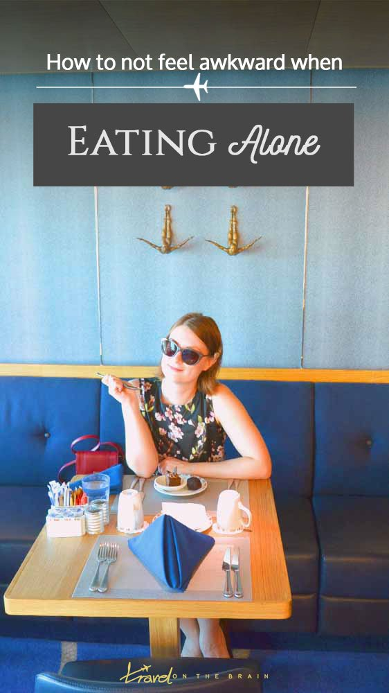 How to Not Feel Awkward When Eating Alone