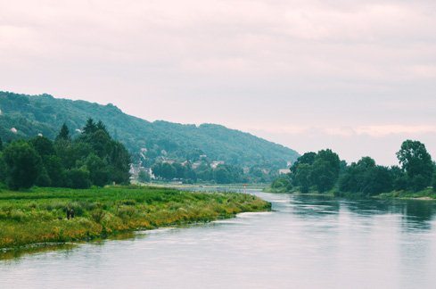 River cruise on the Elbe near Dresden