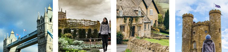 Places to discover through travel books - England