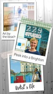 Art by the beach – Peek into a Brighton Artist's life