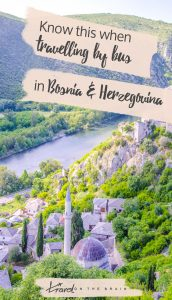 Know This When Doing Bus Travel in Bosnia and Herzegovina