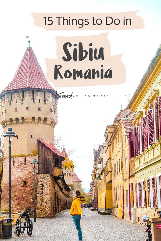 15 Things to Do in Sibiu Romania // Ad