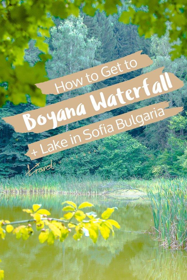 How to Get to Boyana Waterfall and Lake in Sofia, Bulgaria