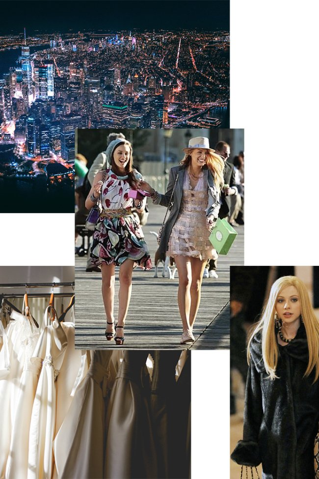 Gossip Girl Outfits - new york city packing list